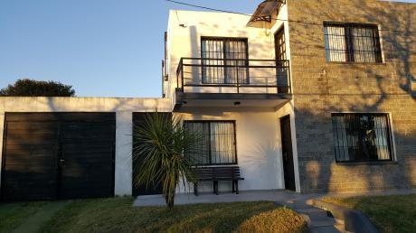 Casa Muy Bien Equipada Ubicada A 400m De La Playa,con 3 Dormitorios