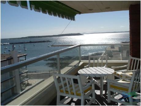 Apartamento Amplio, Luminoso Con Excelentes Vistas Al Mar , Y Puerto De Punta Del Este