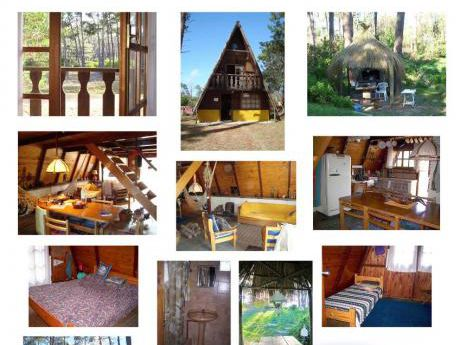 Cabaña Alpina, Para 7 Personas, Zona De Bosques