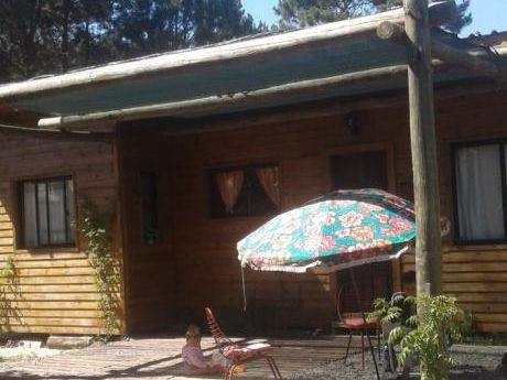 Alquilo Cabaña En La Floresta $1500
