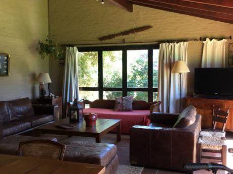 Casa En Alquiler Temporada En El Pinar