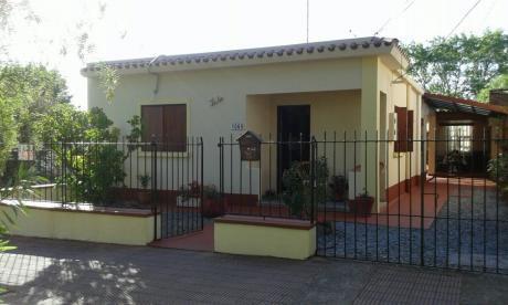 Alquilo Casa 5 Cuadras De Playa Y A Media Cuadra Devoto