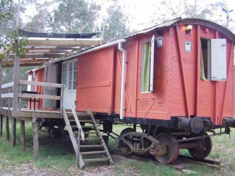 Casas Vagones, Vagones -cabañas En Piriapolis-punta Negra