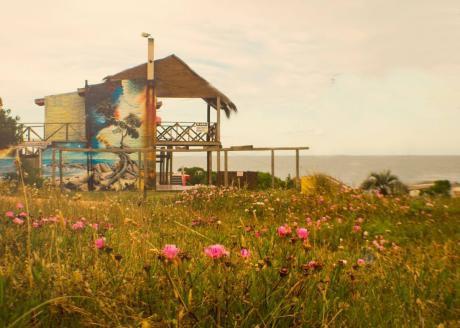 Cabaña Frente Al Mar Con Gran Terraza En Otoño Y Primavera