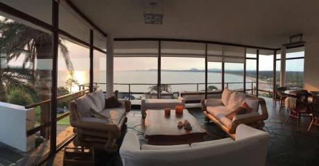 Casa En Punta Ballena Mejor Vista De Uruguay 9 Personas!!