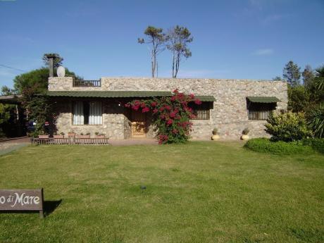 Casa Piedra C/piscina Ocean Park  Prox Punta Del Este