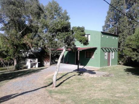 Casa Frente A Cascada P/ 7 Personas Por Quincena