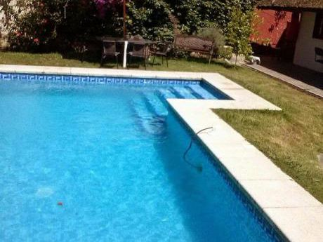 Cabaña C/piscina Y Barbacoa A 500m De Playa