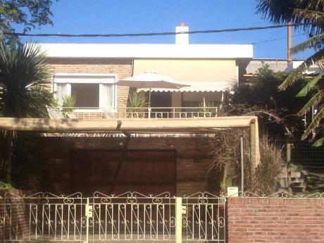 Casa A 3 Cuadras De Playa, Piriapolis,febrero,min 15 Dias