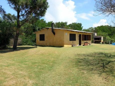 Casa En Jaureguiberry A 1 Cuadra De La Playa