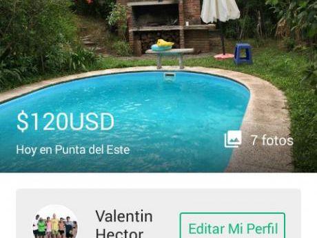 Casa A Una Cuadra Del Mar Parada 32 De La Mansa 120 Dólares