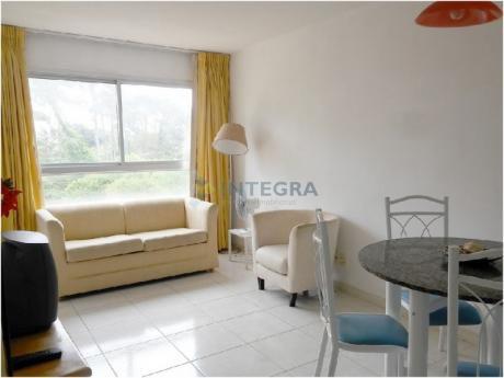 1 Dormitorio Con Servicio Sobre Av. Roosevlet