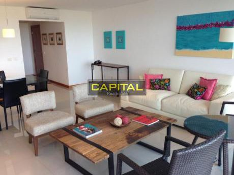 Primera Fila Playa Brava + Moderno Apartamento De 3 Dormitorios