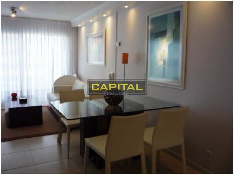 Excelente Apartamento De 2 Dormitorios En Playa Brava