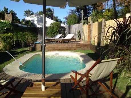 Chalet C/piscina Sal P13 Mansa  Cercado; A/a, Wi Fi, Tv Cable. Solo Llamadas