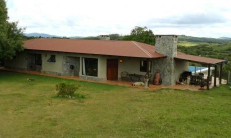 Casa De Campo En Las Sierras. Comfortable Farm House