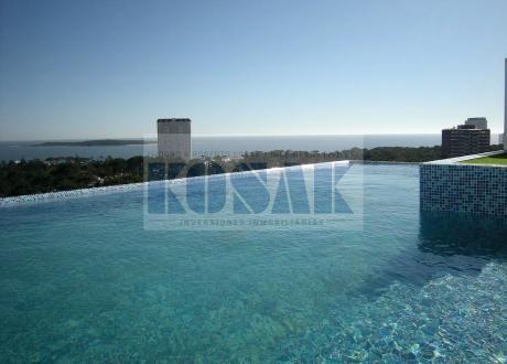 Apartamento Moderno En Punta Del Este!! Torre Acapulco Roosevelt