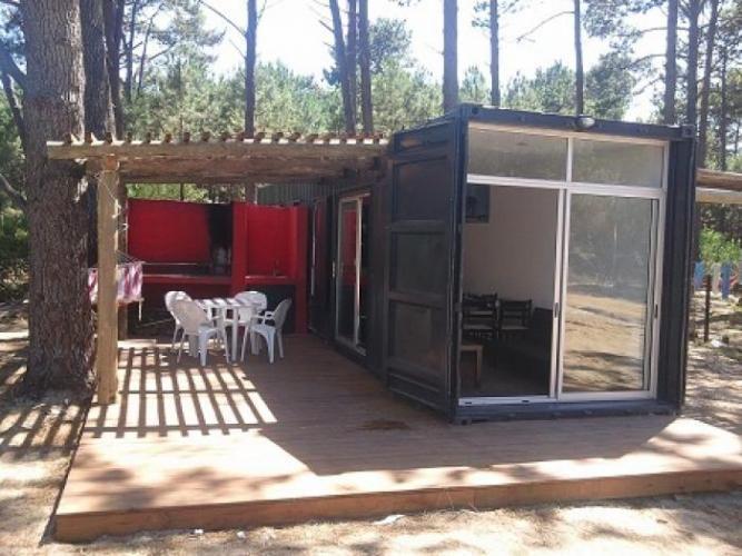Casa contenedor bosque de pinos contenedores anaconda casa en alquiler en la paloma - Casa contenedor precio ...
