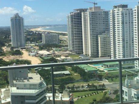 Wind Tower. .  Apartamento De Lujo  ! Esquinero Piso Alto Con Vista Al Mar .