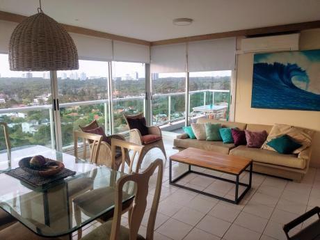 Dueño Vende Y Alquila Mansa Palm Beach Piso 16 Vista La Mar Y Bosque 2d 2b