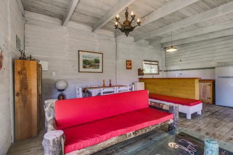 Cabaña Rústica Con Terraza Y Patio En Santa Mónica