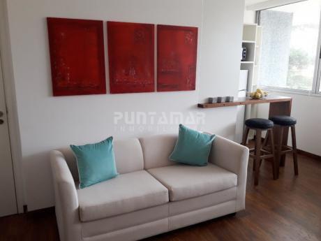 Apartamento De Un Dormitorio, Ubicado  A Pasos De Playa Brava, En Zona De Aidy Grill