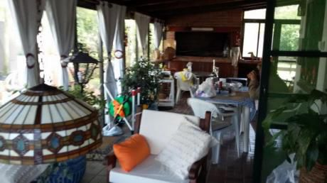 Casa Con Gran Barbacoa Cerrada  Y Fondo. Ideal 2 Parejas.  Balneario Solis