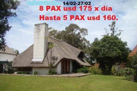 Casa Grande A 50 Metros Mar En Playa Solanas Punta Ballena Punta Del Este