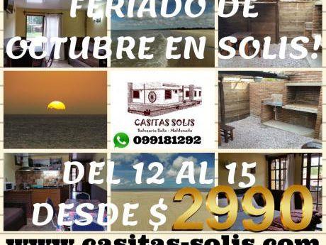 Casa En Solis A Pocos Metros Del Mar